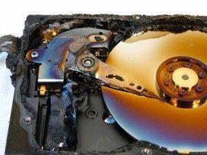 recupero dati da hard disk bruciato